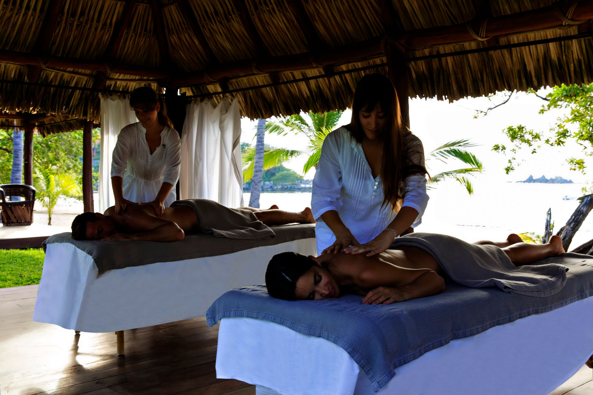 club med ixtapa pacific massage - mexique