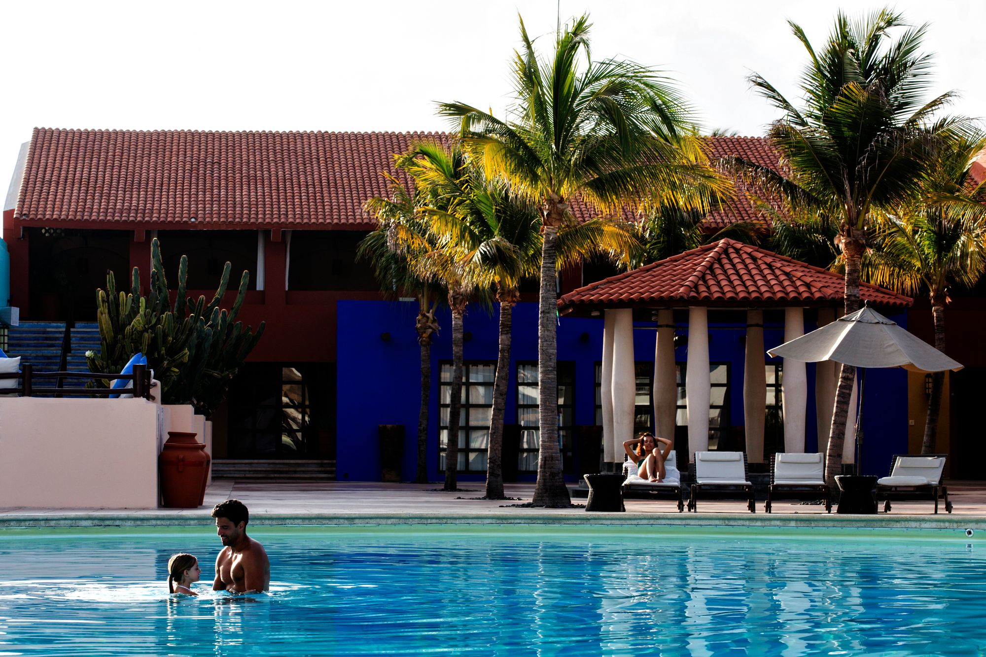club med cancun yucatan piscine - mexique